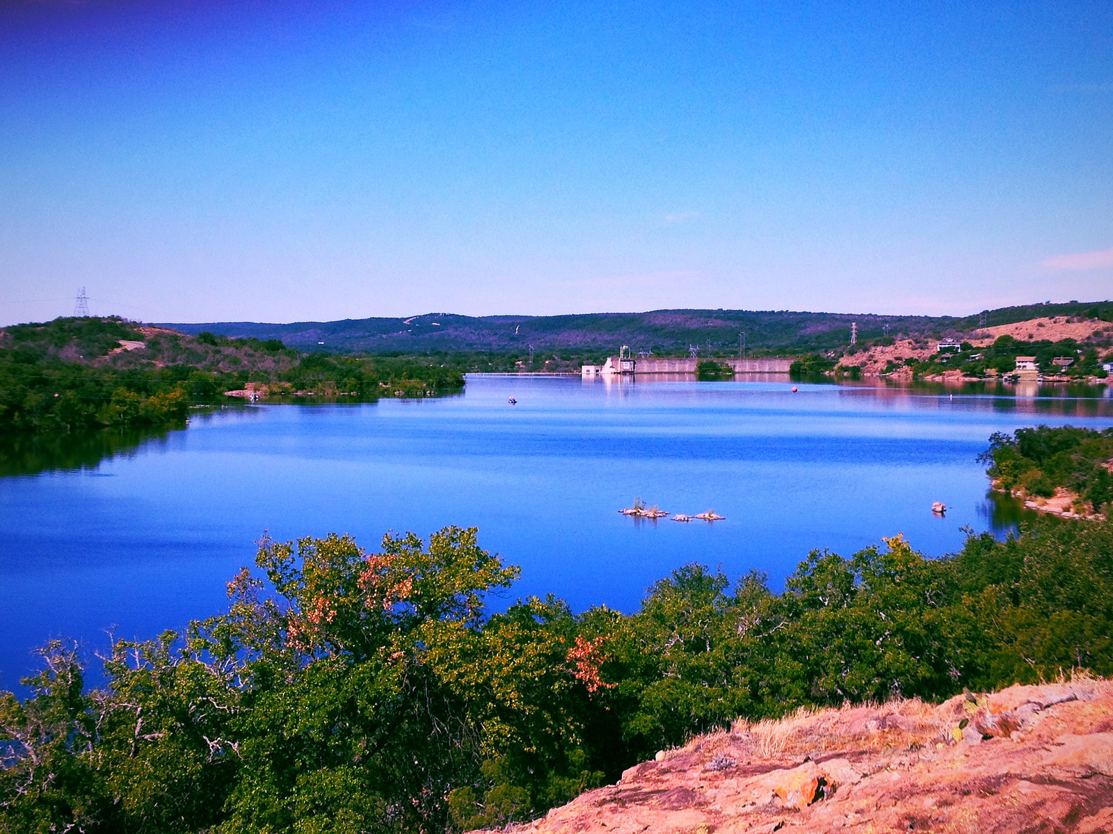 Best places in texas to go airstream camping for Fishing spots in austin tx